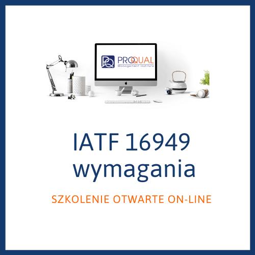 szkolenie otwarte Wymagania IATF 16949